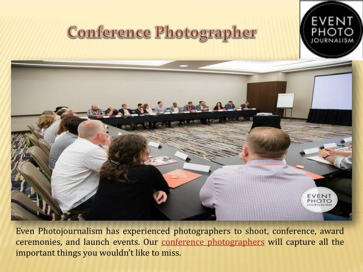 Conference Photographer