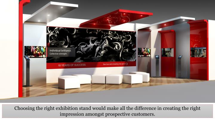 Choosing the right exhibition stand would make all the difference in creating the right impression a...