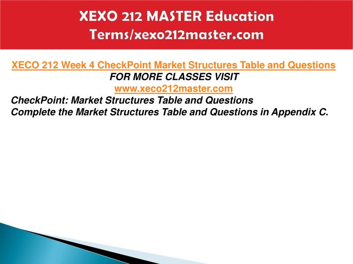 XEXO 212 MASTER Education  Terms/xexo212master.com