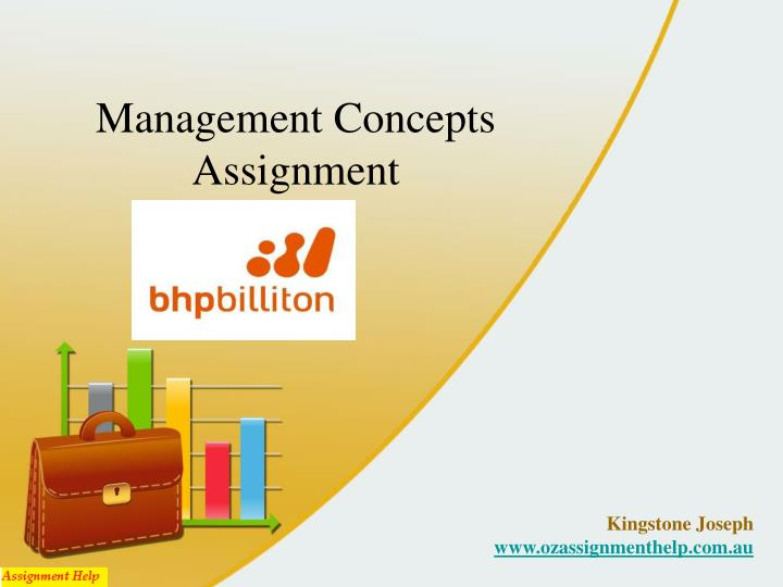 Management concepts assignment