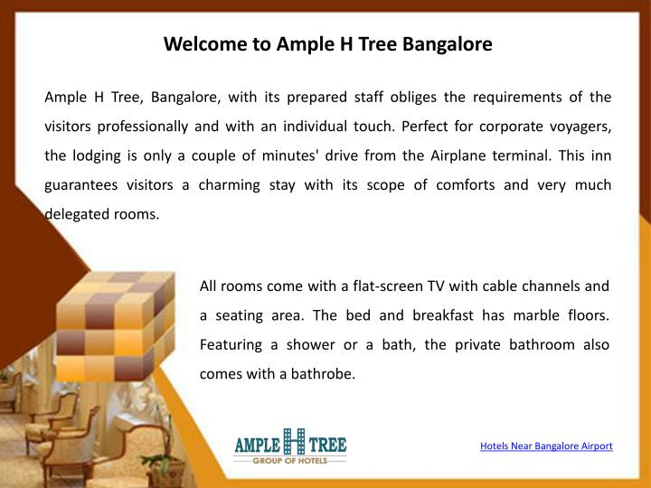 Welcome to Ample H Tree