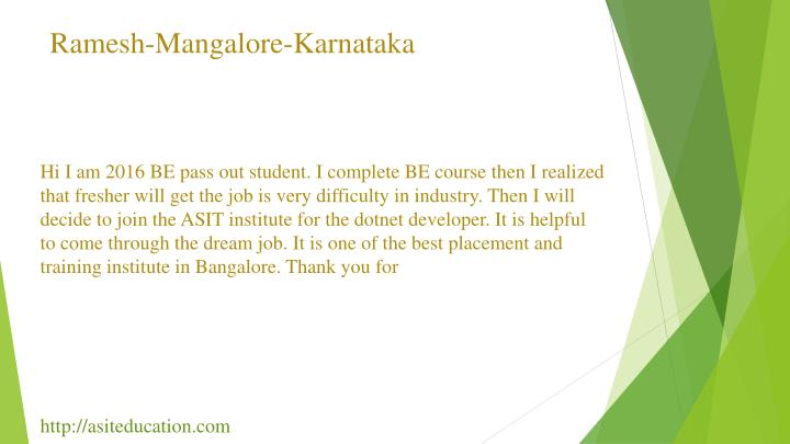 Ramesh-Mangalore-Karnataka