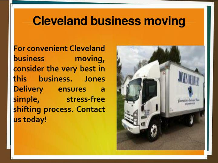 Cleveland business moving