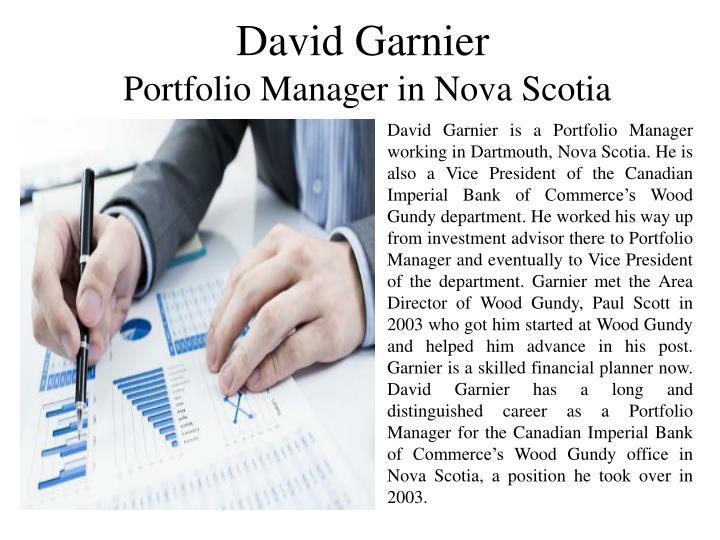 David Garnier