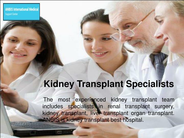 Kidney Transplant Specialists