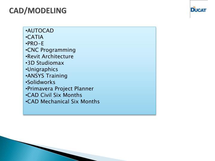 CAD/MODELING