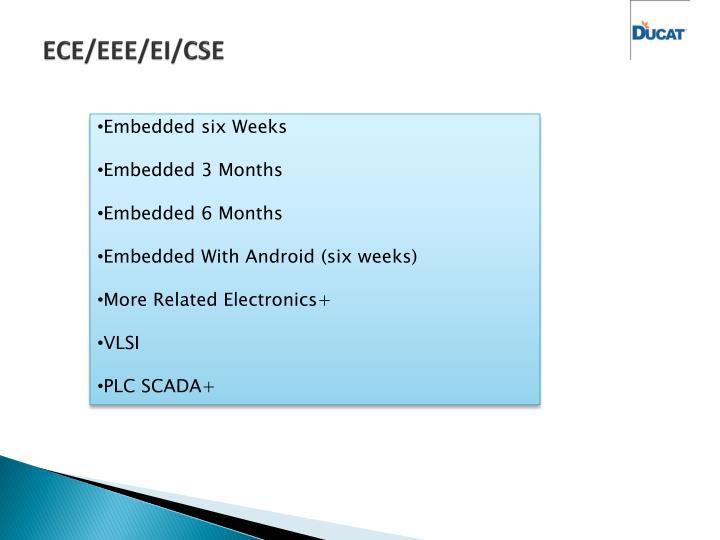 ECE/EEE/EI/CSE