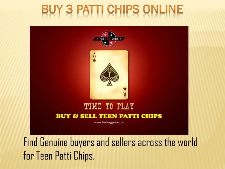 Buy 3 patti chips online