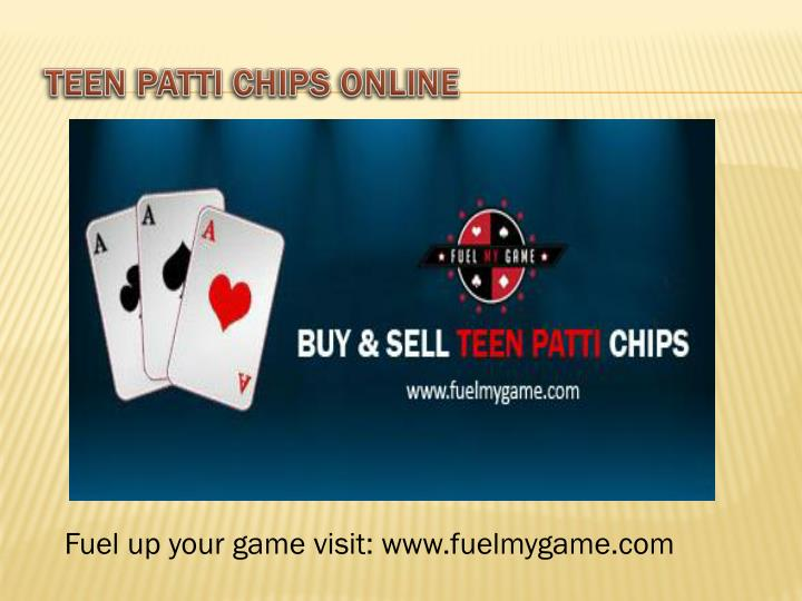 Teen Patti Chips Online