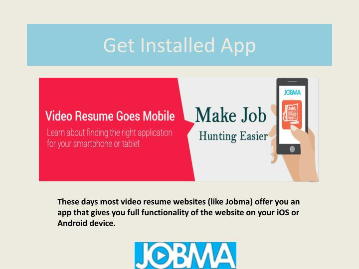 Get Installed App