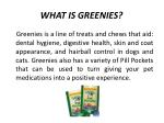 what is greenies