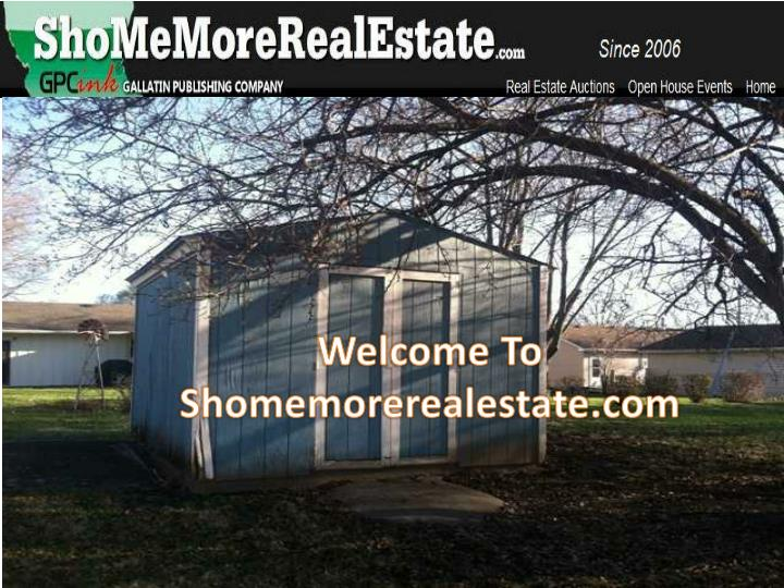 Welcome To Shomemorerealestate.com