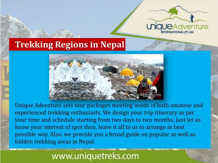 Trekking Regions in Nepal