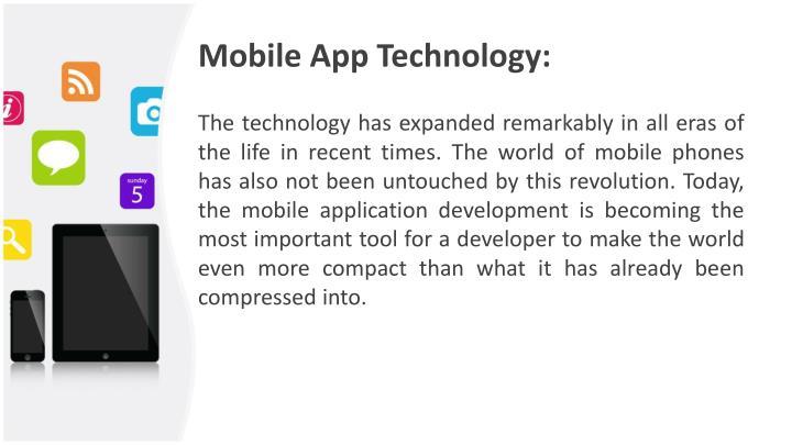 Mobile App Technology: