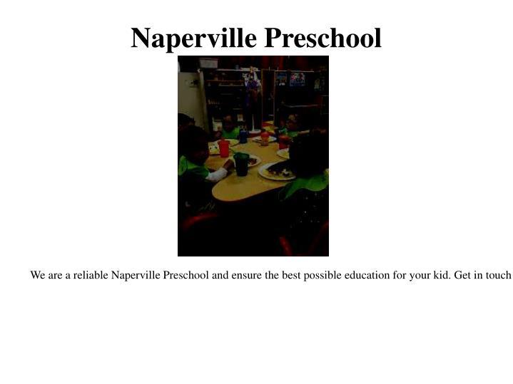 Naperville Preschool