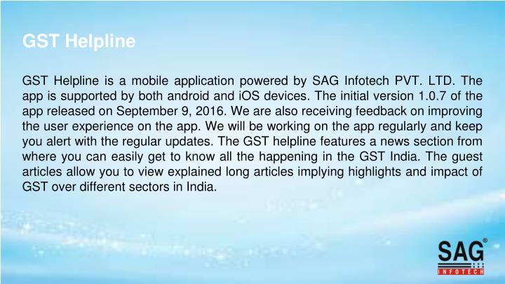 GST Helpline