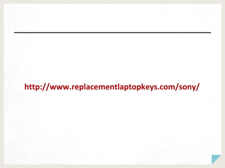 http://www.replacementlaptopkeys.com/sony/