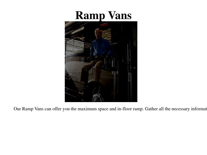 Ramp Vans