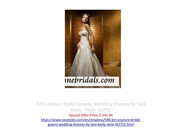 JLM Couture Bridal Gowns, Wedding Dresses by Tara Keely - Style tk2752