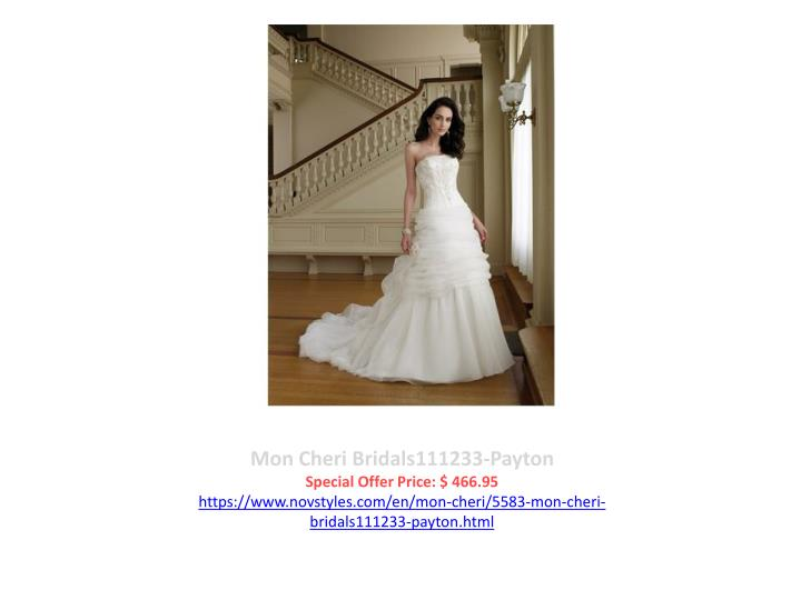 Mon Cheri Bridals111233-Payton