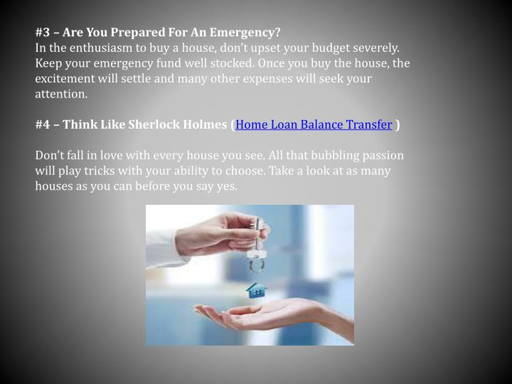 #3 – Are You Prepared For An Emergency?