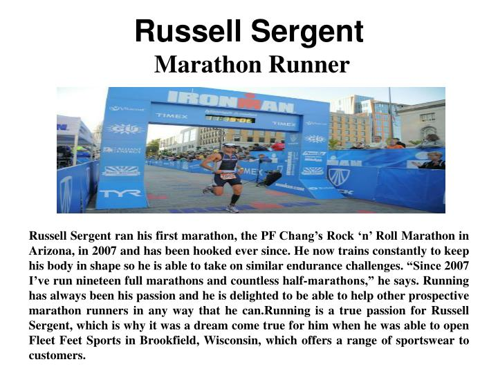 Russell Sergent