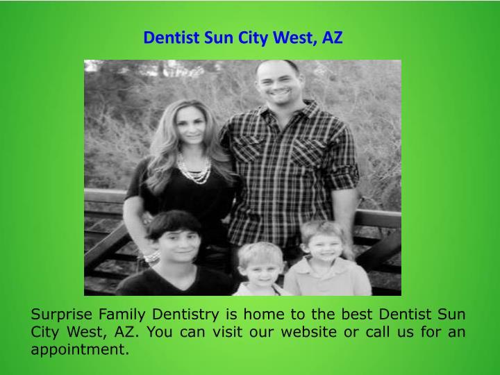 Dentist Sun City West, AZ