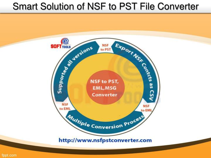 Smart Solution of NSF to PST File Converter