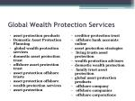 global wealth protection services