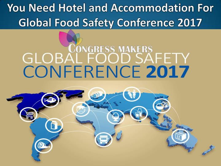 You can book private hotels for gfsi 2017