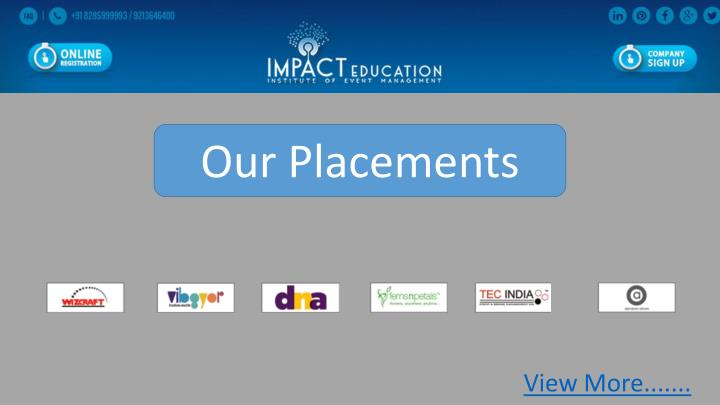 Our Placements