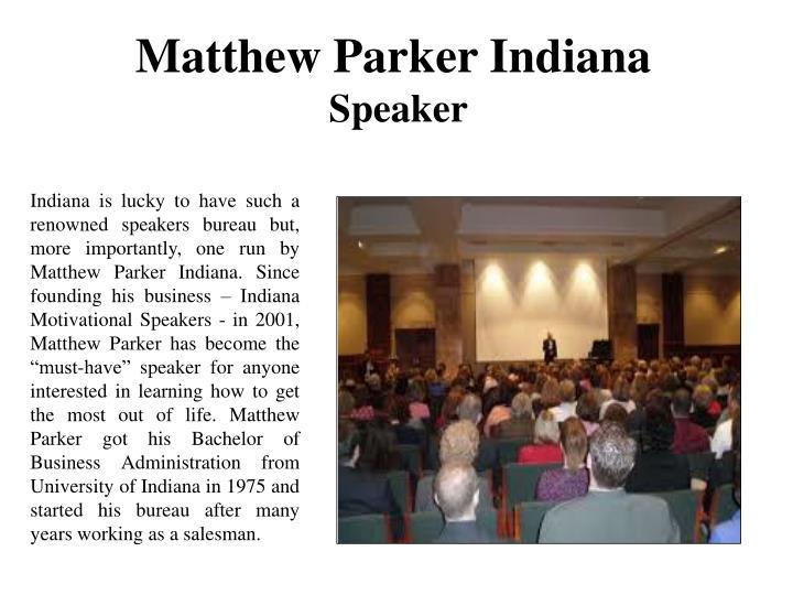 Matthew Parker Indiana