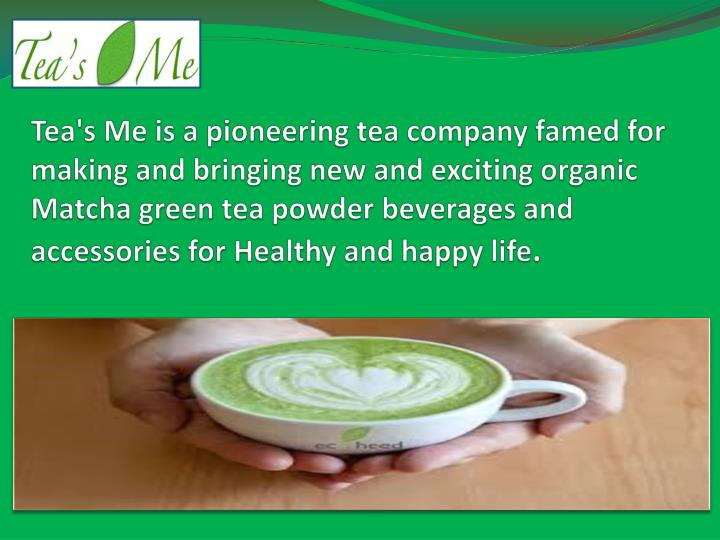 Tea's Me is a pioneering tea company famed for making and bringing new and exciting organic