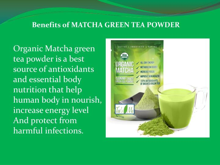 Benefits 0f MATCHA