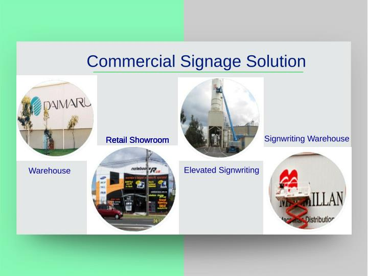 Commercial Signage Solution