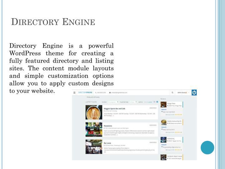 Directory Engine