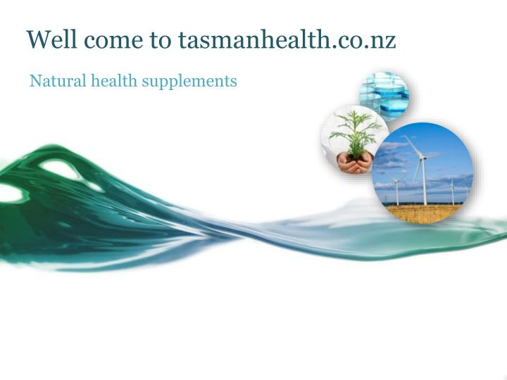 Well come to tasmanhealth co nz
