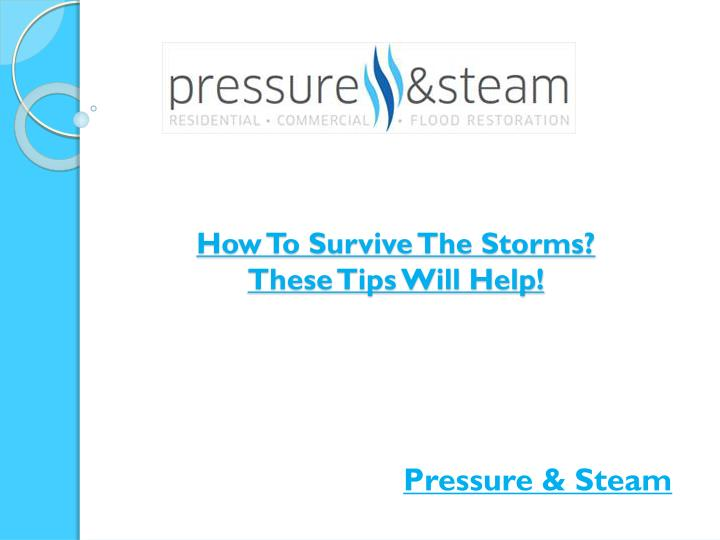 How to survive the storms these tips will help