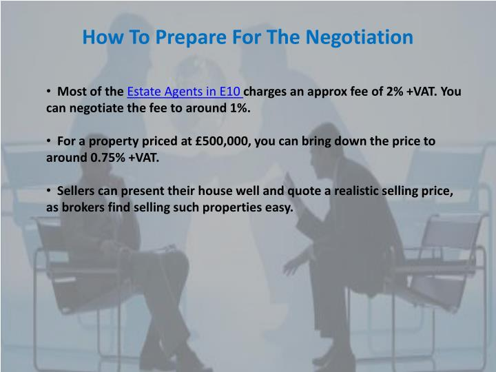 How To Prepare For The Negotiation