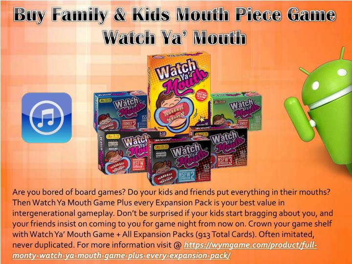 Are you bored of board games? Do your kids and friends put everything in their mouths?