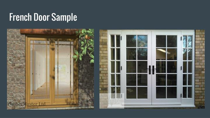 French Door Sample