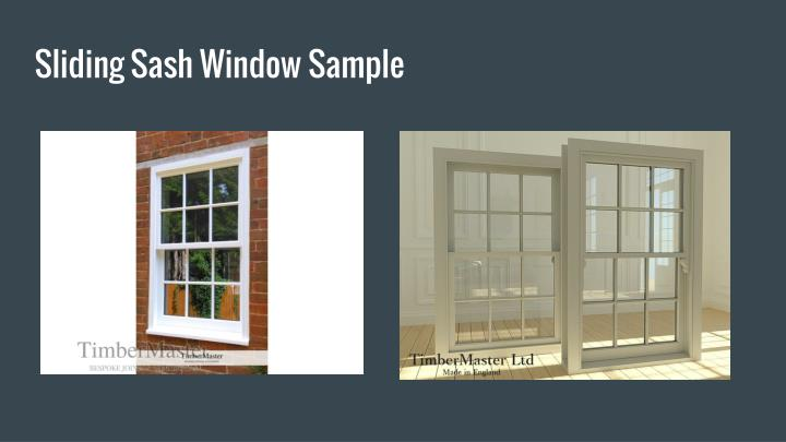 Sliding Sash Window Sample