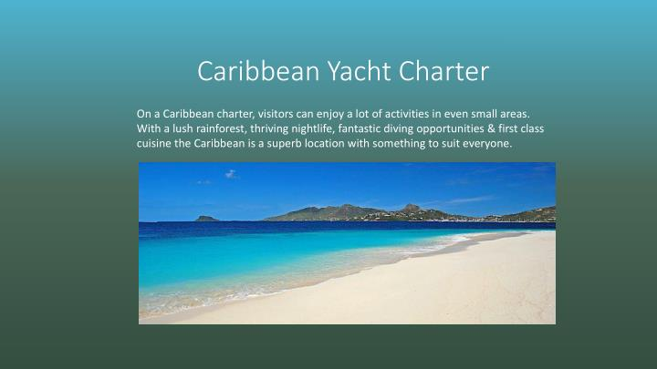 Caribbean Yacht Charter