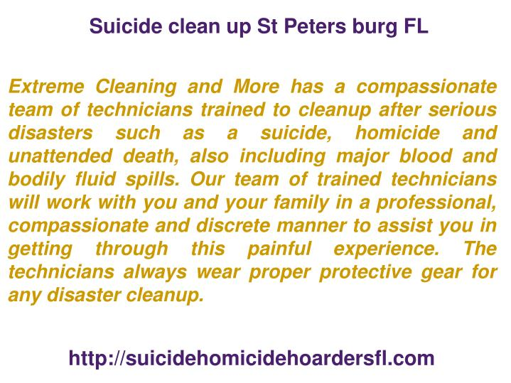 Suicide clean up st peters burg fl1