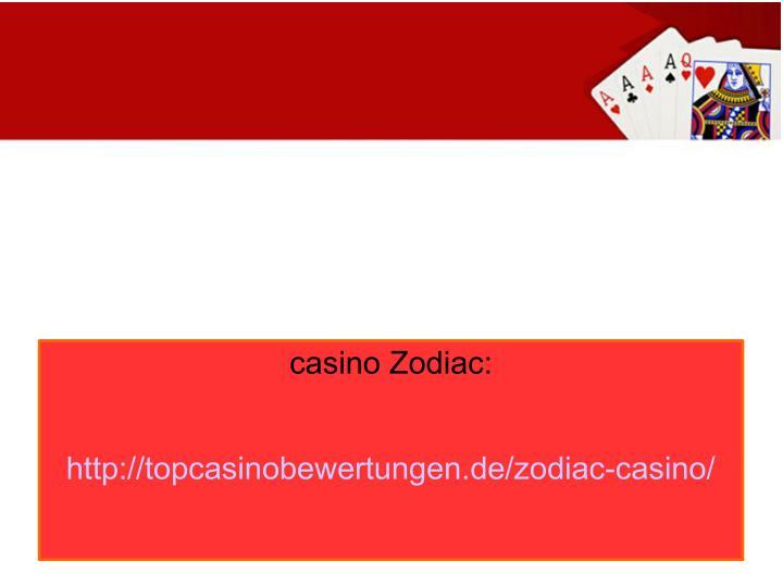 casino Zodiac: