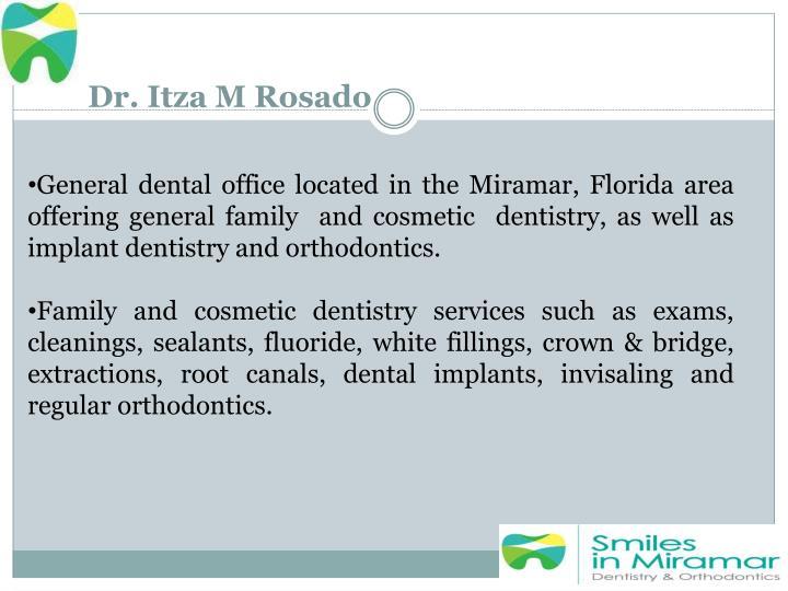 Dr. Itza M Rosado