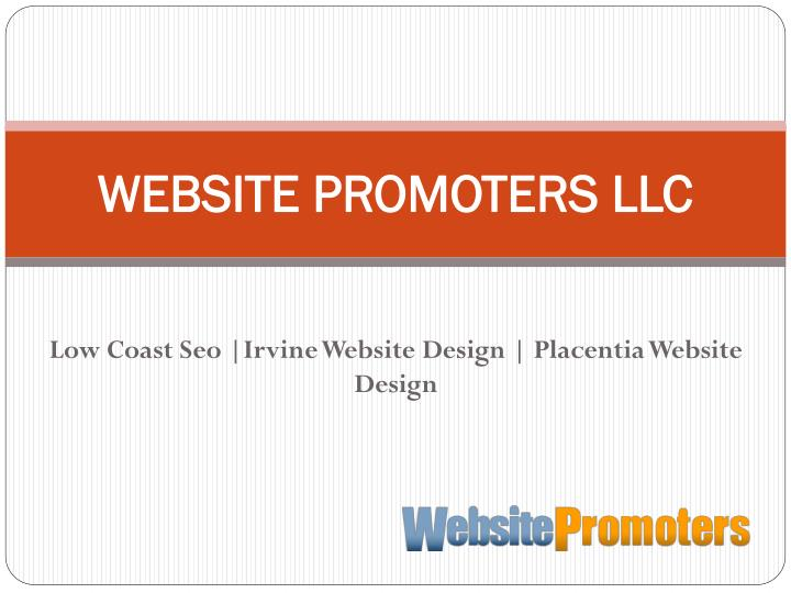 Website promoters llc