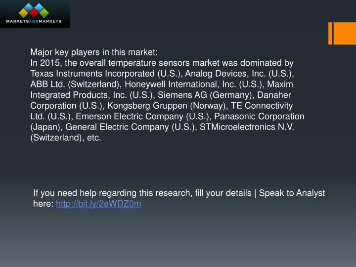 Major key players in this market: