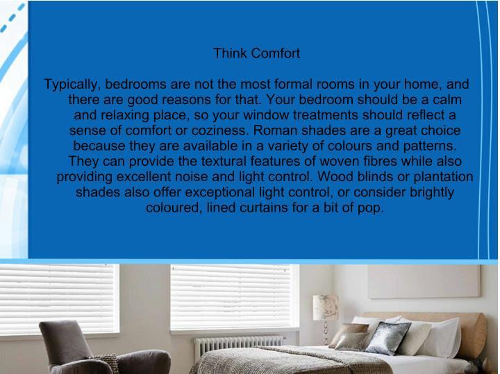 Think Comfort