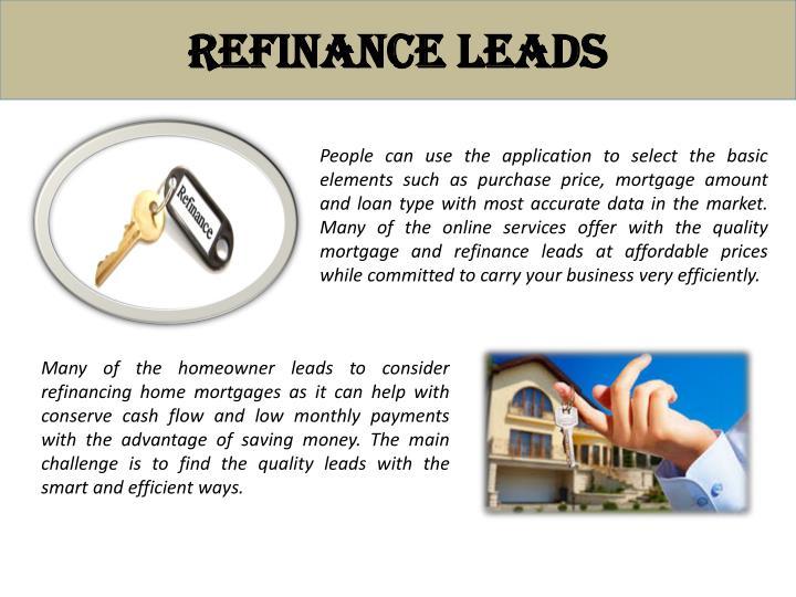 Refinance Leads